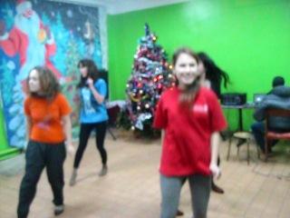 новый год 11 класс, наш танец