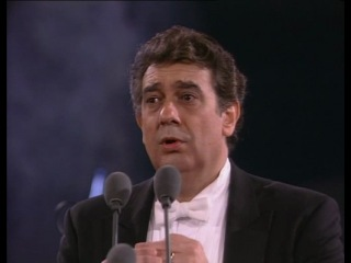 Три тенора - концерт Лючано Паваротти, Пласидо Доминго и Хосэ Каррераса (Термы Каракаллы в Риме, 07.07.1990 г.)