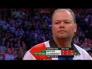 Simon Whitlock - Raymond van Barneveld (PDC World Darts Championship 2013 / Quarter final)