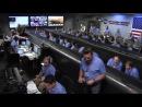 Американский марсоход Curiosity успешно совершил посадку на Красной планете
