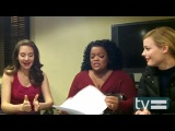 Community Season 4- Gillian Jacobs, Alison Brie &amp Yvette Nicole Brown Interview