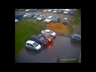 22.09.2013 - притерли Toyota Corolla