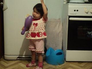 ФАРИЗАТ 1 годика 8 месяцев)Гимн КАЗАХСТАНА!!!!!моя родная*