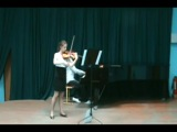 R. Tsypyshev, A. Portnaya - Lera Auerbach, Sonata for Violin and Piano №3 - Part 1