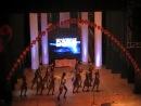 Народный ансамбль современного эстрадного танца Арабеск,композиция Американо