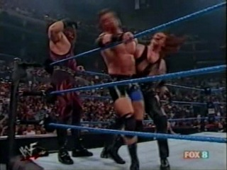 Smackdown 2001: Undertaker & Kane vs Chuck Palumbo & Sean O'Haire (WCW Tag Team Championship)
