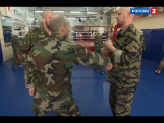 Сергей Бадюк. Работа руками против ножа.