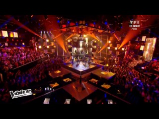 Garou  Dancing in the Street  The Voice-2
