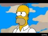 Гомер съел не тот пончик!!!