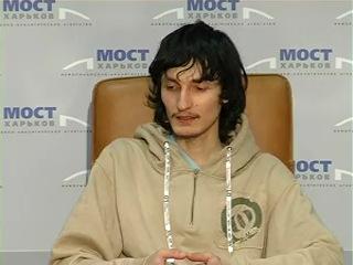 Андрей Терентьев, пресс-конференция в АН