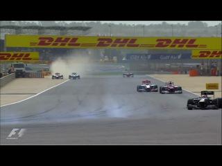 Формула-1. Гран-при Бахрейна 2012. Лучшие моменты.