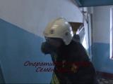 Пожар в кухне на Лесном 77