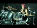"""Lux Drummerette - Slayer  - """"Postmortem"""" - Drum Cover"""