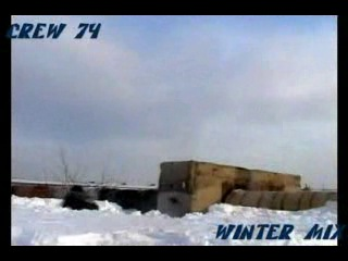 CREW 74 PARKOUR WINTER MIX (паркур)