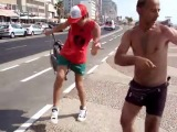 Рома Жёлудь танцует на набережной в Тель Авиве- Roma Acorn dance