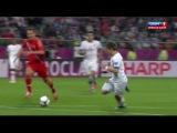 Чемпионат Европы 2012 по футболу: Россия - Чехия (лучшие моменты)