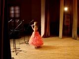 Лера Воркова - Про дедушку - Спасский ДК, 19 01 2014 (из-за кулис)
