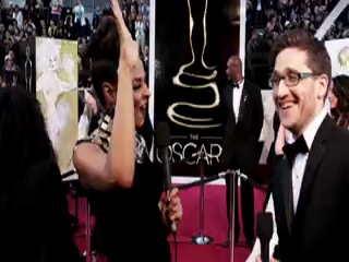 Интервью Кристен с Джошем (Оскар 2013)
