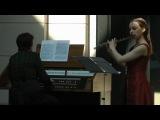 Г.Ф.Гендель, Жига из сонаты фа мажор для флейты