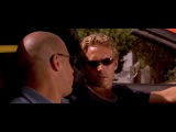 Fast And The Furious 1 (Форсаж 1,отрывок, Toyota Supra vs Ferrari)