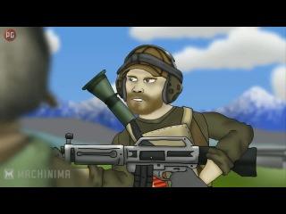 Друзья по Battlefield - USAS-12+Фраги [1 Сезон 3 Серия] - [Озвучка КиНаТаН]