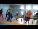 № 3 Видео Урок ХИП-ХОП для детей 720 уличные танцы-- обучалка