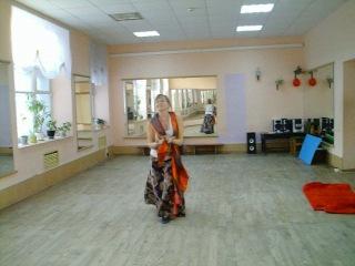 Импровизация с элементами танца Чёрной рыси