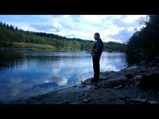 Знакомство с рекой Кола 04.09.2013(путешествие на Кольский п-ов)
