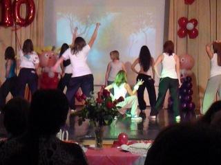 My Way Dance на день учителя в школе*