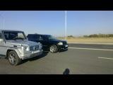 Jeep SRT8 против Mercedes G-class