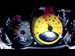TechArt GTStreet R. Разгон 0—100 км/ч и 0—200 км/ч.