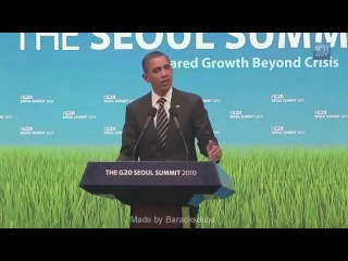 Барак Обама поёт песню группы LMFAO-Iam sexy and i know it