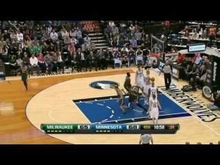 Larry Sanders Triple Double 10 Points/12 Rebounds/10 Blocks