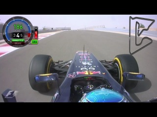 OnBoard Гран-При Бахрейна 2012 (Sebastian Vettel)
