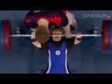 Тамара Подпальная - серебрянная призерка паралимпийских игр 2012