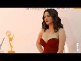 Kat Denning Boobs Sexy Cleavage Emmy Dress