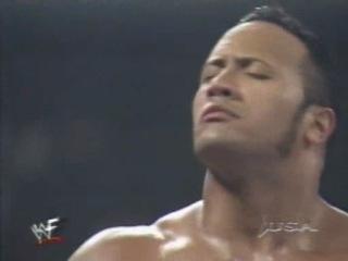 WWF RAW Triple H (w/Chyna) vs The Rock 28.07.1999