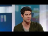 Darren Criss talks about Glenn Beck and politics.
