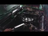 Первый запуск мотора 1,5 16V турбо чёрно-зелёной пятёрки)