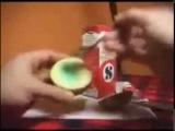 Как сделать зажигалку из зубной пасты, картошки и соли?