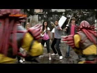 Могучие Рейнджеры Супер Самураи 1 серия мего