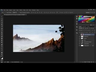 Создание в Photoshop эффекта глубины иллюстрации. Урок 1 (обзор курса)