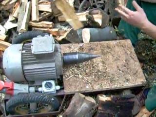 Elektryczny rębak do drewna 1 08