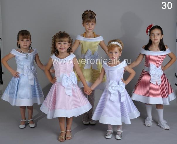 Детские платья Коллекция Вероника 4.