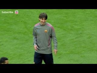 Вот как надо играть в квадрат))Тренировка Барселоны. Игра в квадрат