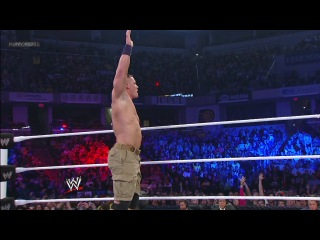 CM Punk vs. John Cena vs. Ryback Survivor Series 2012
