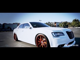 Copper Jaw Dropper - Slammed Chrysler 300S by Nutek Forged Wheels.
