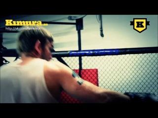 Видеозапись тренировки Александра Густаффсона перед боем с Маурисио Хуа