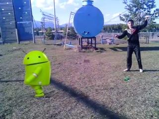 дуель маджахеда с Андроидом