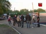 Во дворе Челябинска одновременно сработали все авто-сигнализации